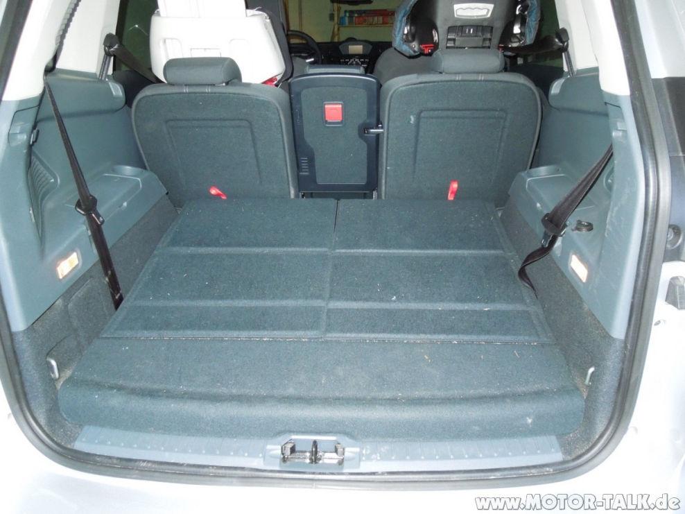 kofferraum 7 sitzer kofferraumbodenh he ford c max mk2 grand c max 204426863. Black Bedroom Furniture Sets. Home Design Ideas