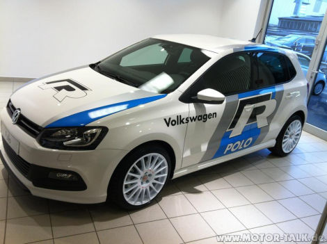 polo r line in wrc optik kommt ein polo r vw polo 5. Black Bedroom Furniture Sets. Home Design Ideas