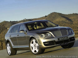 SUV extrem in Form des Bentley