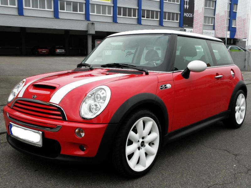 mini cooper s zu verkaufen ez 2006 rot chilli biete mini. Black Bedroom Furniture Sets. Home Design Ideas
