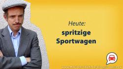 Roadshow: Spritzige Sportwagen