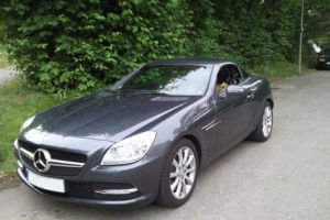 Mercedes SLK R172 200 BlueEffiency Test_1