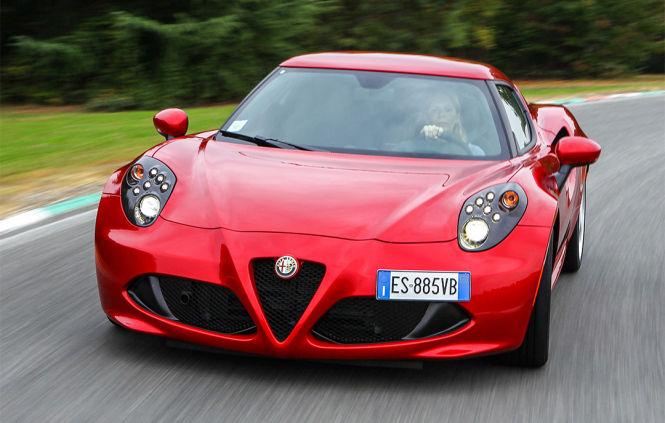 Der Alfa Romeo 4C ist ein Statement: Alfa is back