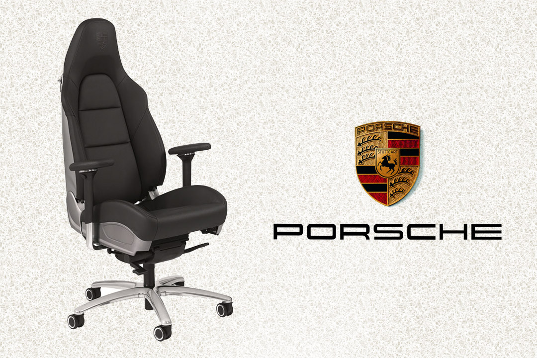 porsche buerostuhl ein porsche mit f nf r dern porsche news 206262836. Black Bedroom Furniture Sets. Home Design Ideas