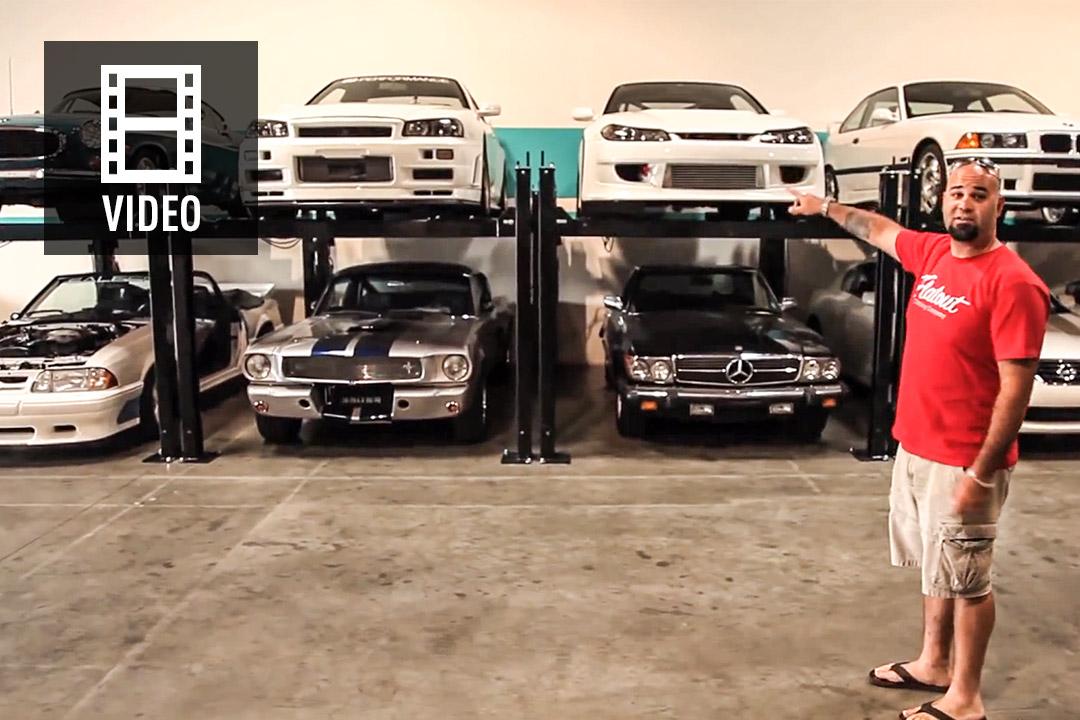 video paul walkers auto sammlung motorsport news. Black Bedroom Furniture Sets. Home Design Ideas