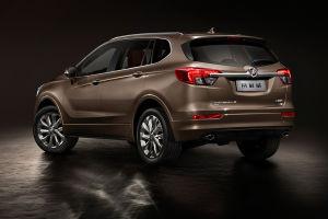 Buick Envision: hinterer Anschnitt