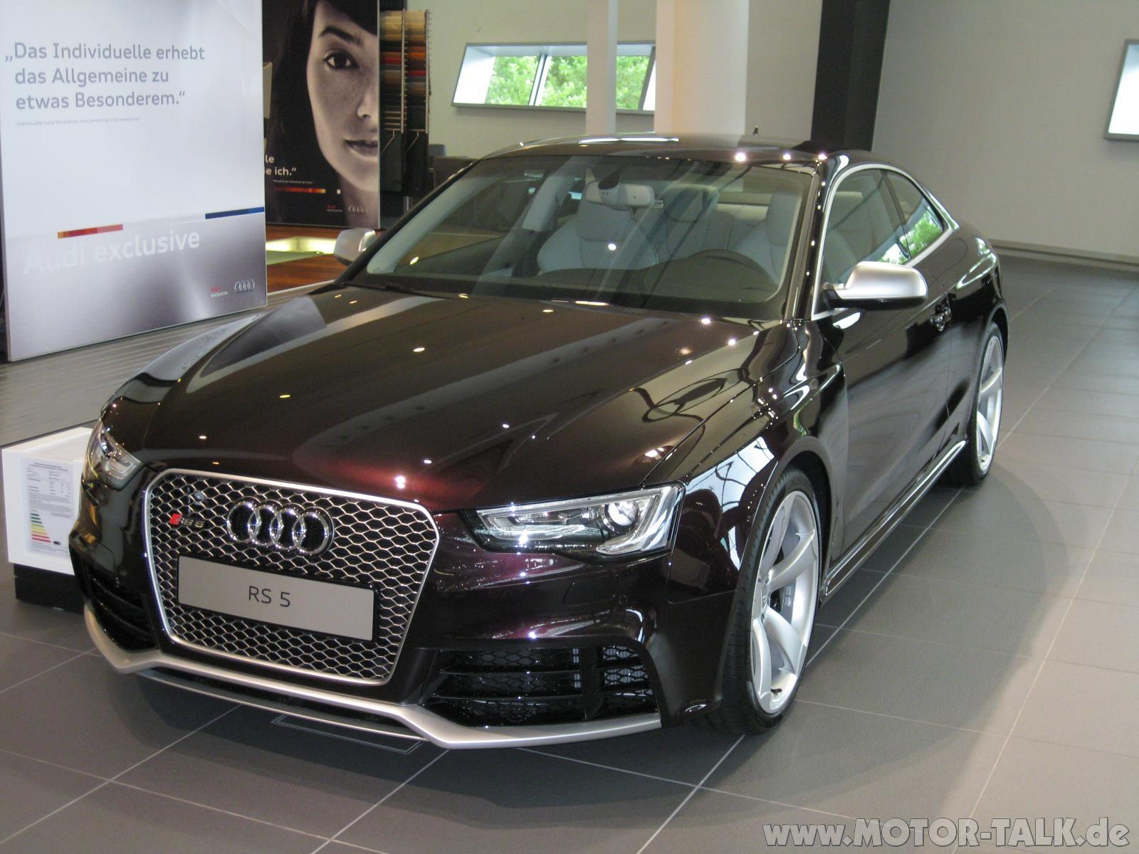 Audi Rs Red Paint