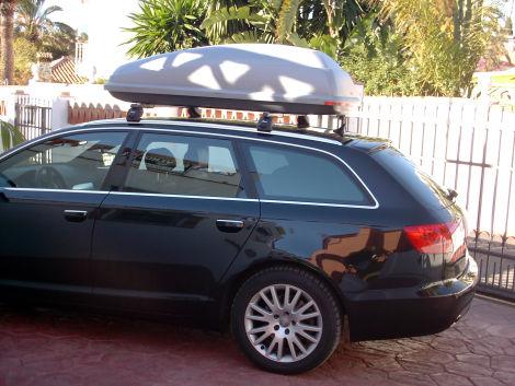 thule dachbox mit atera tr gern biete car audio. Black Bedroom Furniture Sets. Home Design Ideas