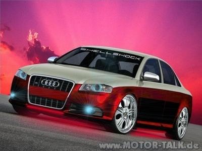 Audi 2 Farbig Folierung In Mattschwarz Was Haltet Ihr