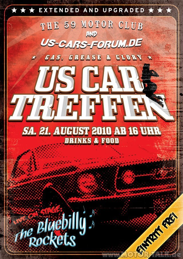 flyer us car treffen 2010 us car treffen gas grease glory bei berlin us. Black Bedroom Furniture Sets. Home Design Ideas
