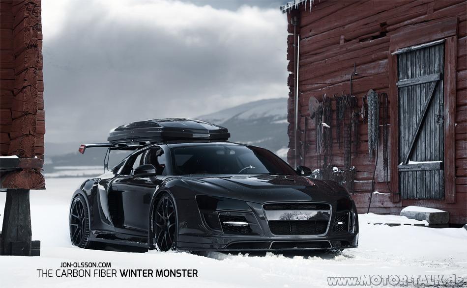 Jon Olsson Audi R8 Ppi Stasis Stertman Carbon Wide Body