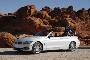 MOTOR-TALK-Redakteur Philipp Monse fuhr mit dem neuen BMW 4er Cabrio durch das Valley of Fire
