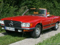 Mercedes SL R107 350 SL Test
