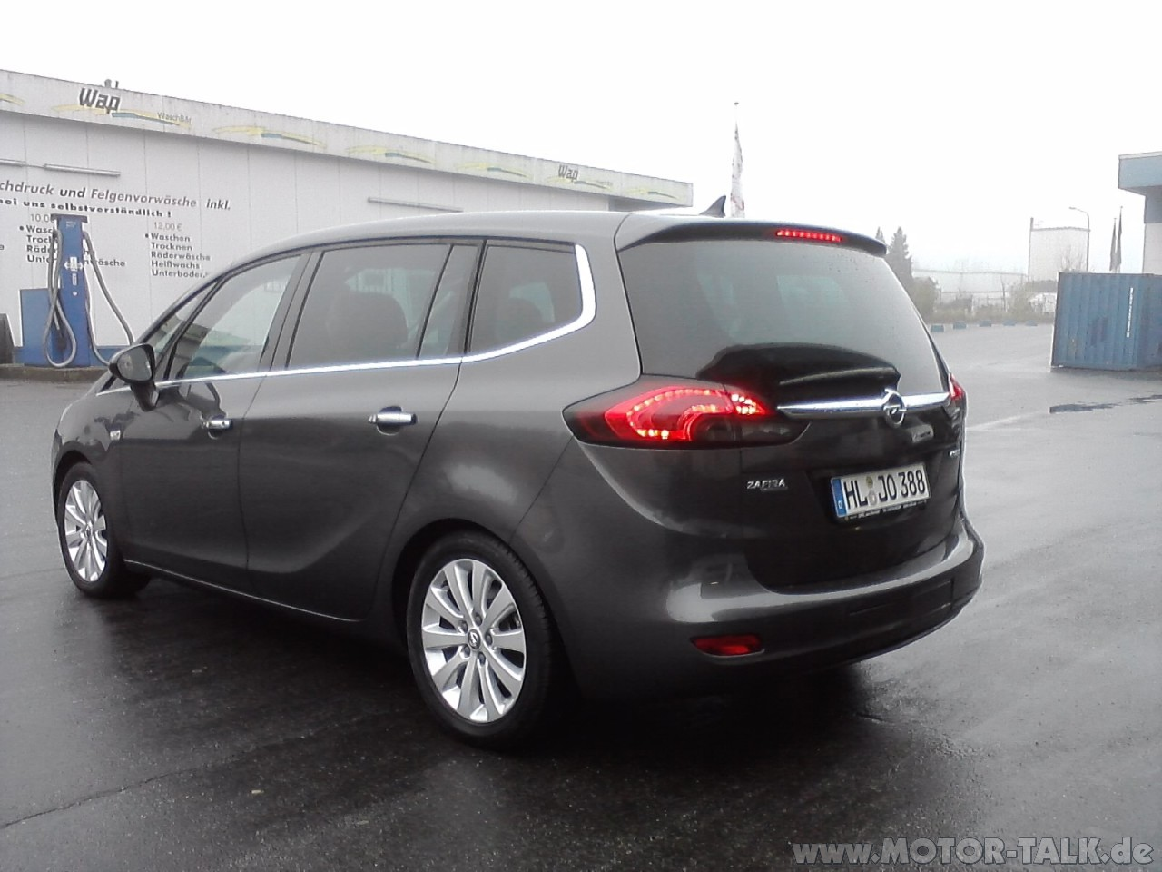 zafira tourer 4 opel zafira tourer 1 4 t test testberichte 205787199. Black Bedroom Furniture Sets. Home Design Ideas
