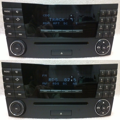 page mercedes benz aps 20 radio cd player w211 e klasse. Black Bedroom Furniture Sets. Home Design Ideas