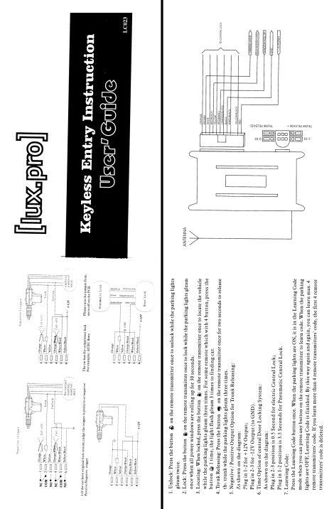 Atemberaubend Luxpro Thermostat Schaltplan Zeitgenössisch - Der ...