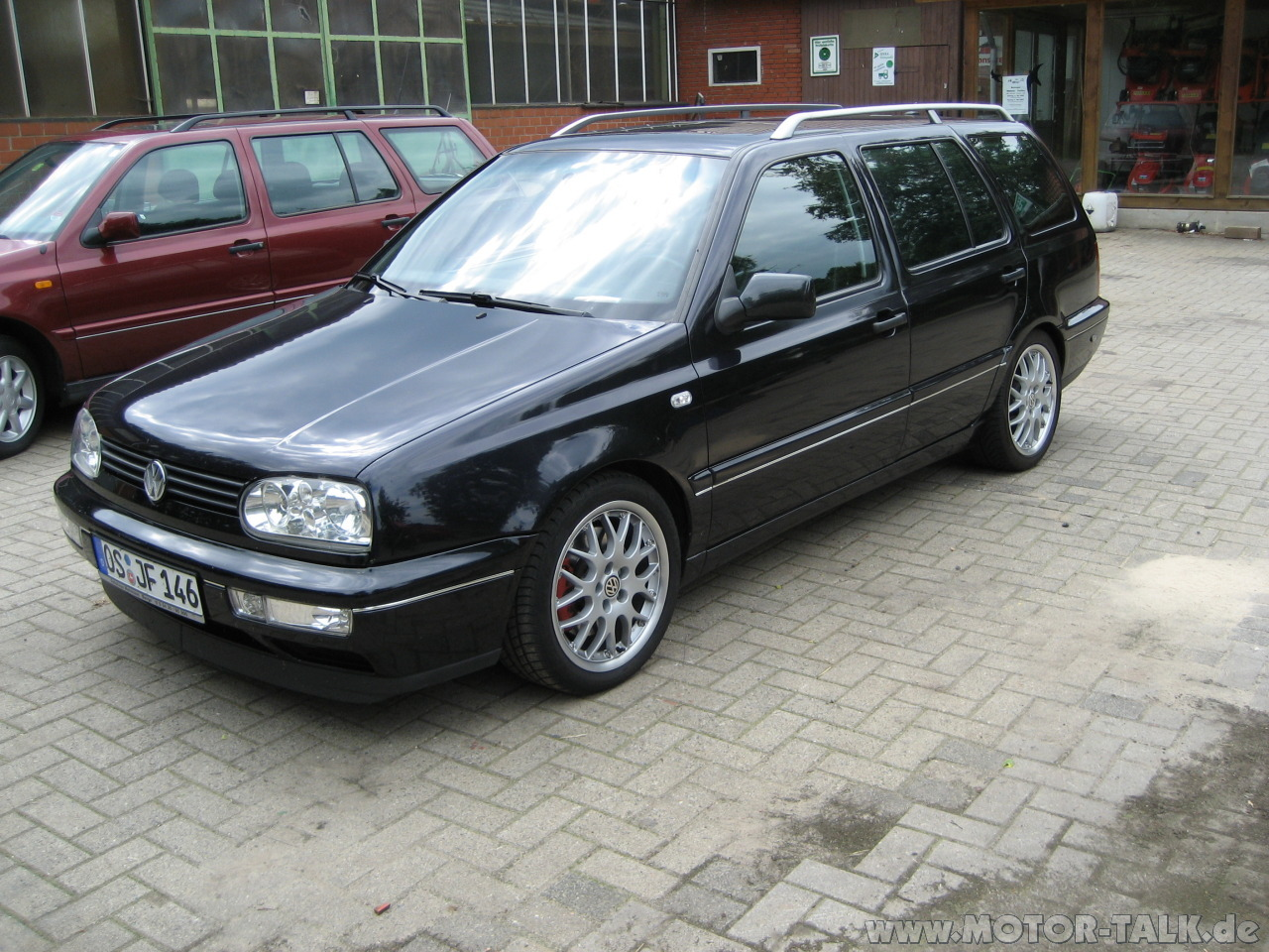 Vw golf 3 1h 2 9 vr6 variant syncro 79304 for Interieur golf 3 vr6