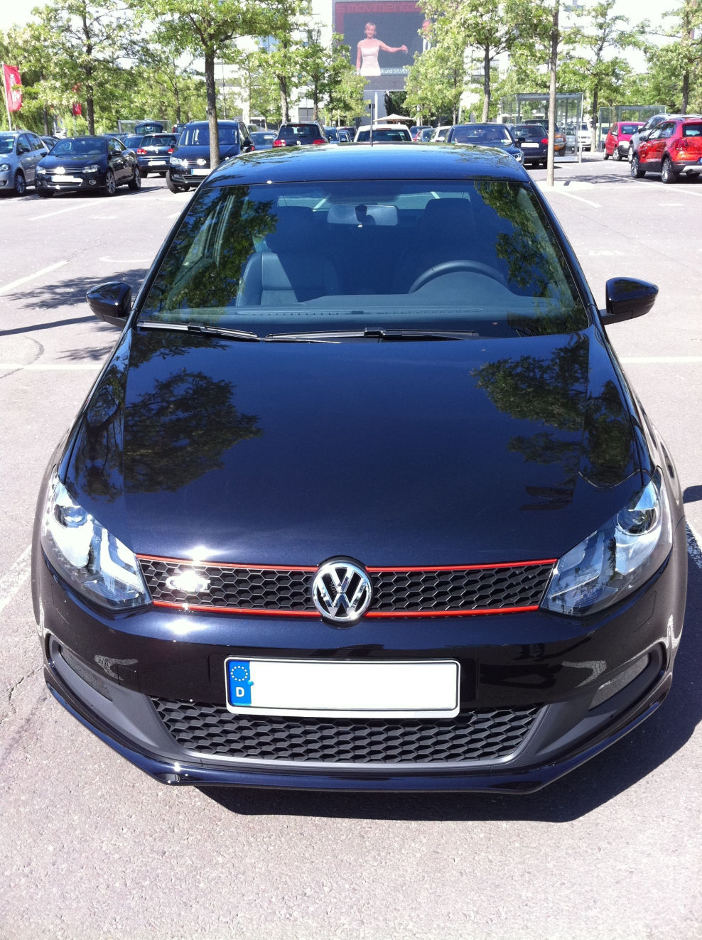 img 0062 polo gti mit detroit felgen vw polo 5. Black Bedroom Furniture Sets. Home Design Ideas