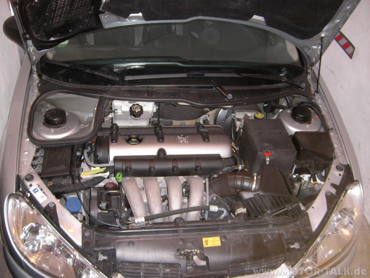 Motorraum Peugeot 206 2 0 Rc Rfk Test Testberichte