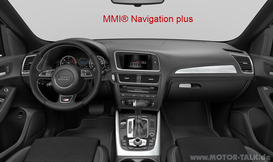 mmi navigation plus mmi navigation mmi navigation plus audi q5 8r 206005301. Black Bedroom Furniture Sets. Home Design Ideas