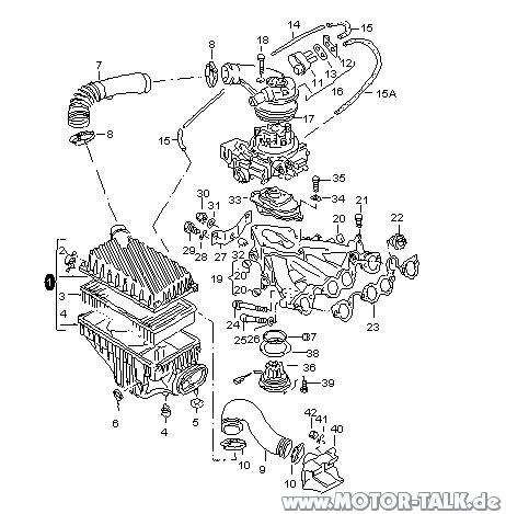 2004 Suzuki Aerio Serpentine Belt Diagram in addition Rp Ansaugung I205206897 also T10335 also 2000 Volkswagen Jetta 1 9l Serpentine Belt Diagram in addition T9683860 Audi a4 1 9 tdi thermostat diagramm. on 2001 volkswagen passat