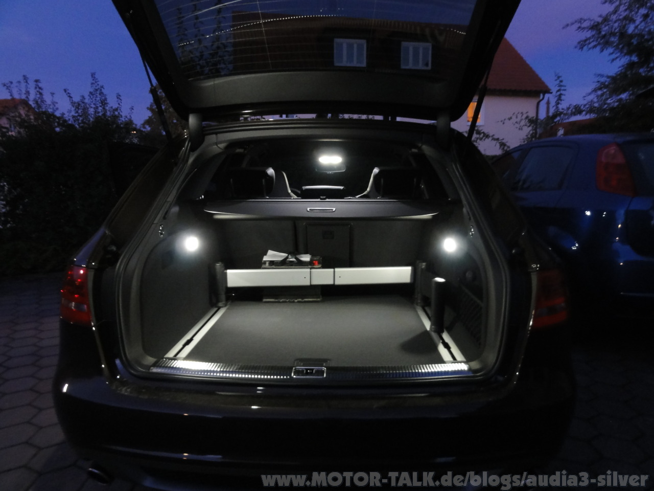 Erstes Kleines Update Led Innenraumbeleuchtung Audia3 Silver