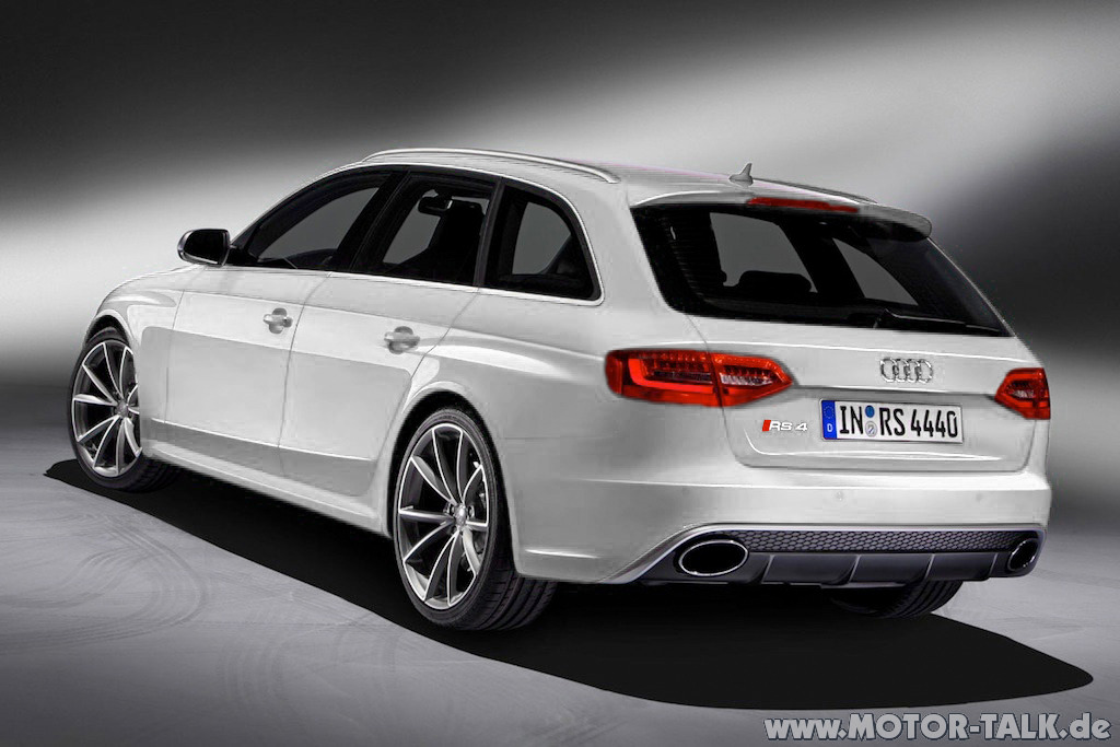 Audi Rs4 Avant White 1 Wann Rs4 Audi A4 B8 204341732