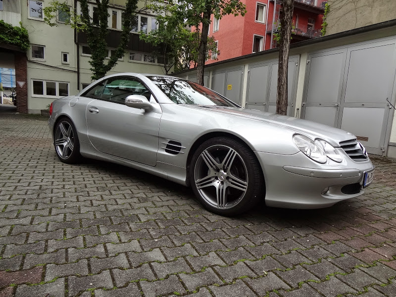 mercedes benz sl 500 r230 biete. Black Bedroom Furniture Sets. Home Design Ideas