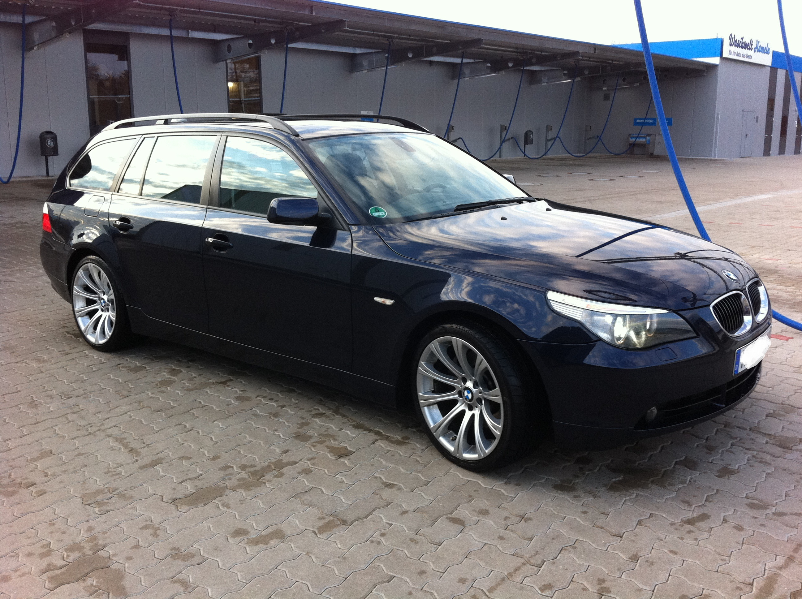 bmw e61 545i mit vollausstattung und m5 felgen biete. Black Bedroom Furniture Sets. Home Design Ideas