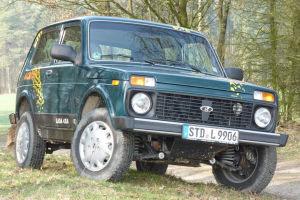 Der Lada Taiga 4x4 als Sonderedition Across