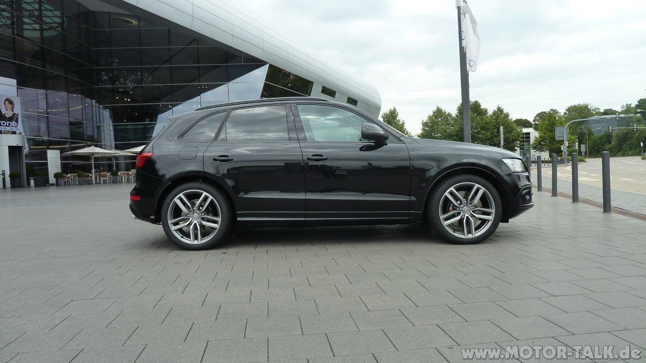 P1050251 Glanzpaket Schwarz Bei Sq5 Audi Q5 8r