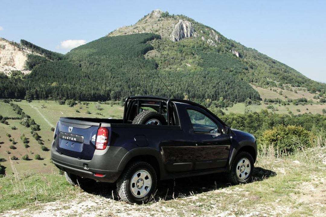 dacia und renault duster pick up dacia duster sd. Black Bedroom Furniture Sets. Home Design Ideas