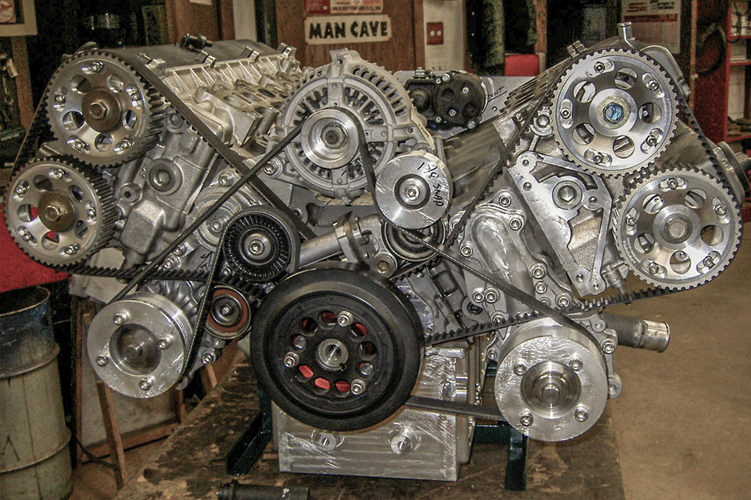 Projekt: Supra-V12-Motor | Toyota Supra