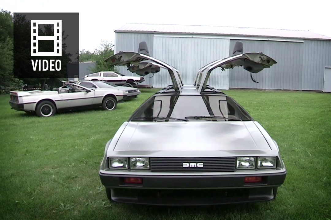 delorean umbauten video tuning news. Black Bedroom Furniture Sets. Home Design Ideas