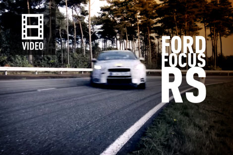 ford focus rs video focus rs mit 350 ps und frontantrieb. Black Bedroom Furniture Sets. Home Design Ideas