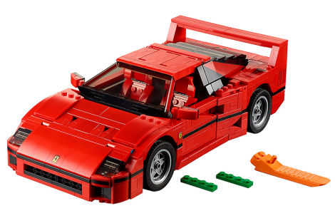 ferrari f40 lego modell. Black Bedroom Furniture Sets. Home Design Ideas