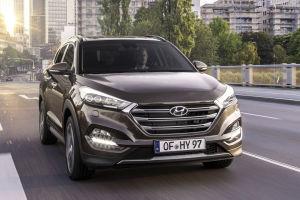 Der Hyundai-Qashqai mit der verschlossenen Klappe
