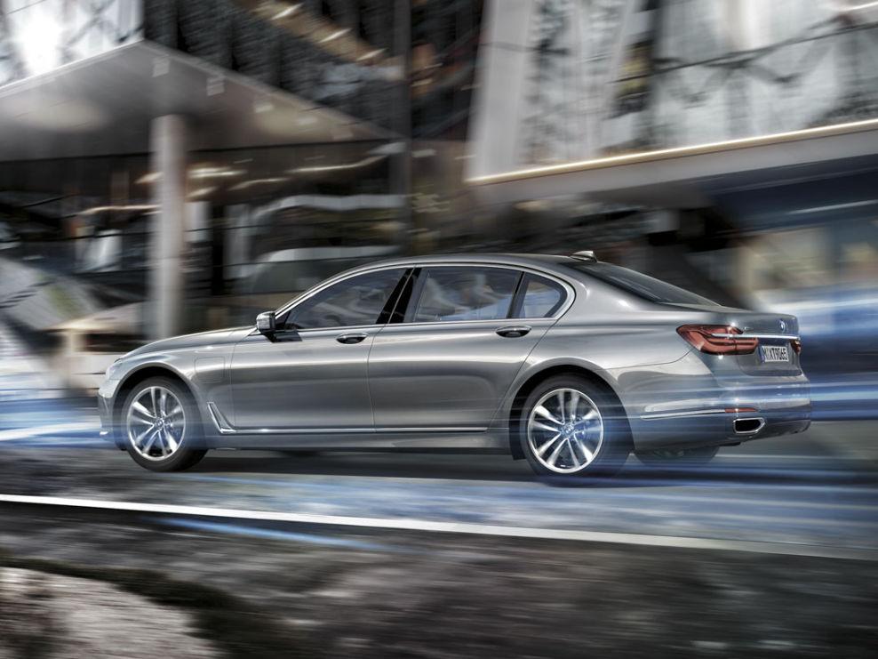 Der neue BMW 7er kommt auch als Plug-in-Hybrid