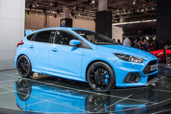 iaa 2015 ford focus rs mit 350 ps und 266 km h v max. Black Bedroom Furniture Sets. Home Design Ideas