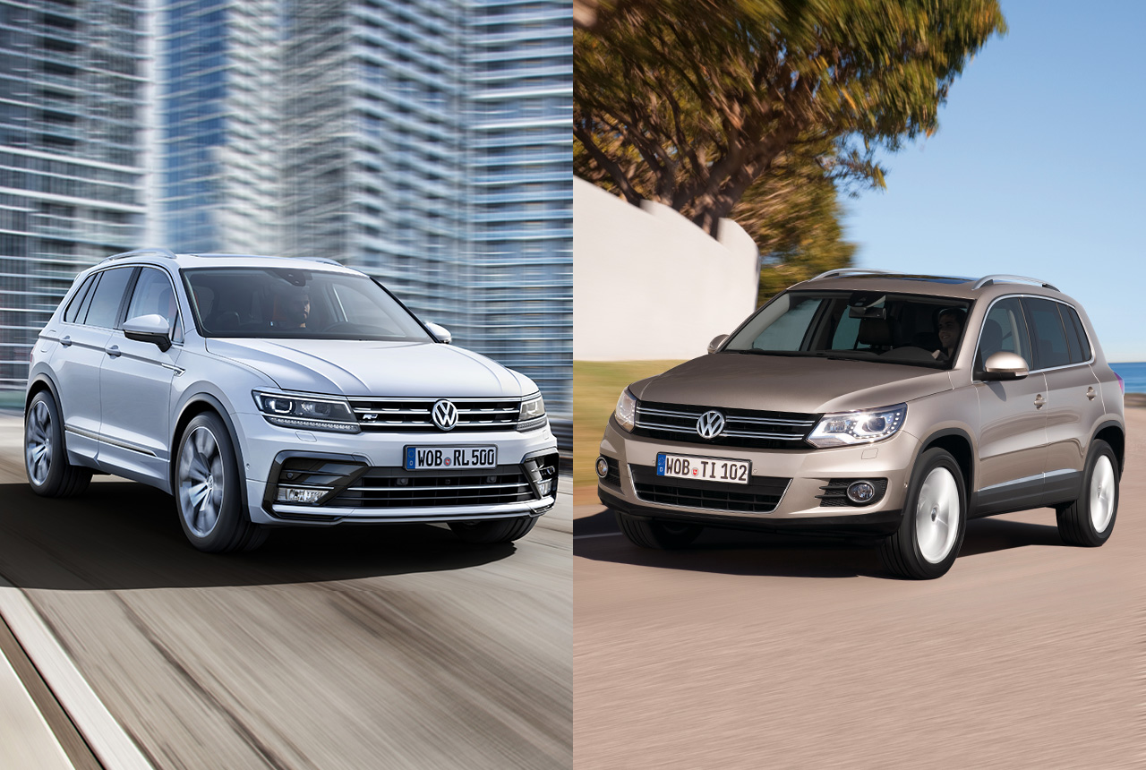 vw tiguan 1 und tiguan 2 im preisvergleich. Black Bedroom Furniture Sets. Home Design Ideas