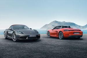 Porsche 718 Boxster und 718 Boxster S