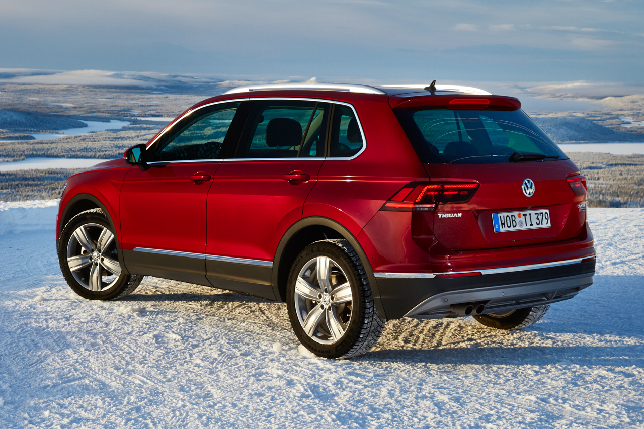 vw tiguan 2 2 0 tdi 2016 testfahrt im schnee vw tiguan 2 ad. Black Bedroom Furniture Sets. Home Design Ideas