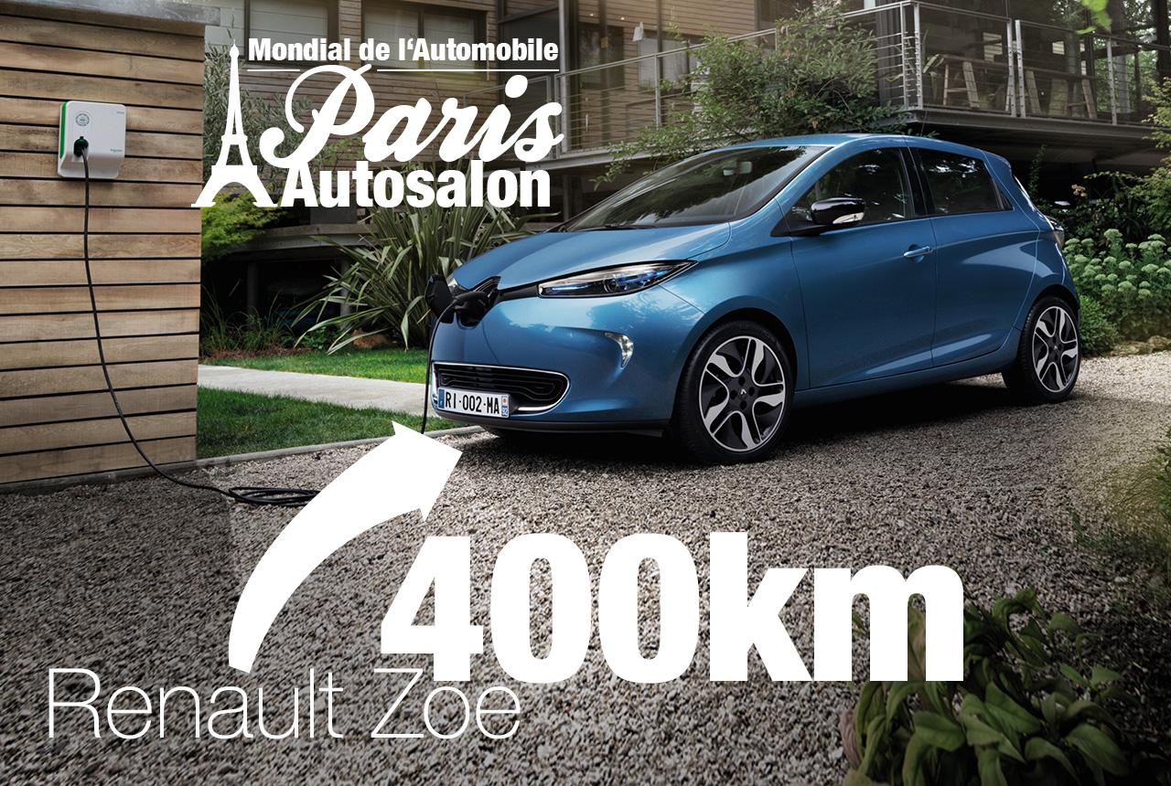 renault zoe ze 40 premiere in paris renault zoe i. Black Bedroom Furniture Sets. Home Design Ideas