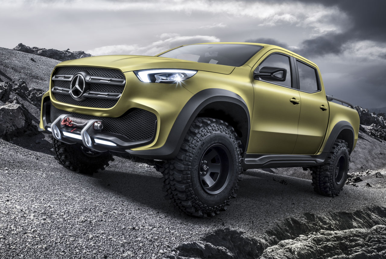 Mercedes X Klasse Pick Up Bilder Daten Details