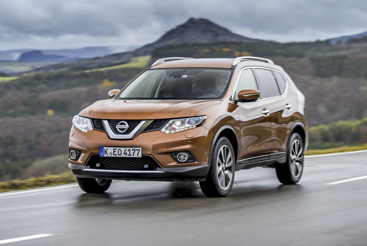 nissan x trail 2 0 dci erster test des neuen diesel. Black Bedroom Furniture Sets. Home Design Ideas