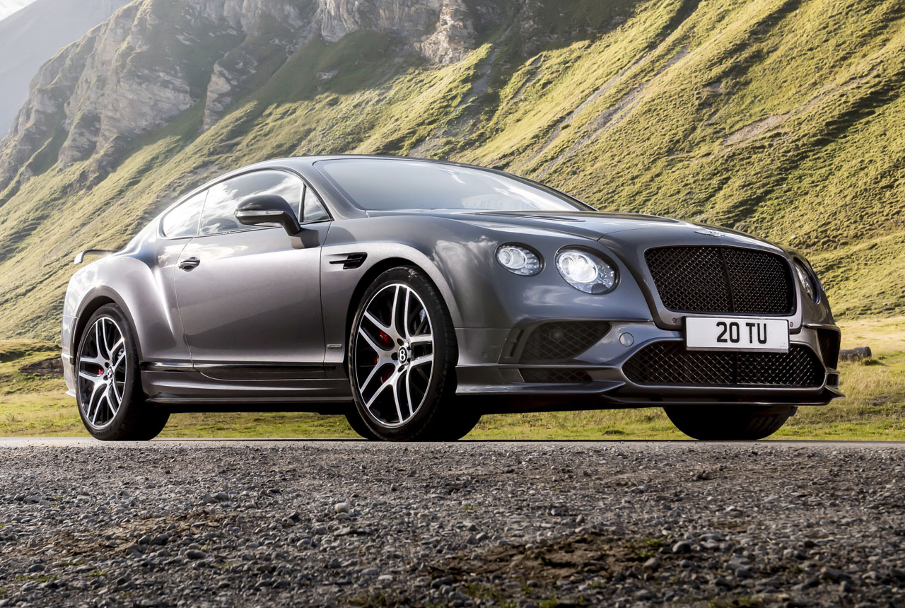 Bentley Continental Supersports 2017 Bilder Technische Daten