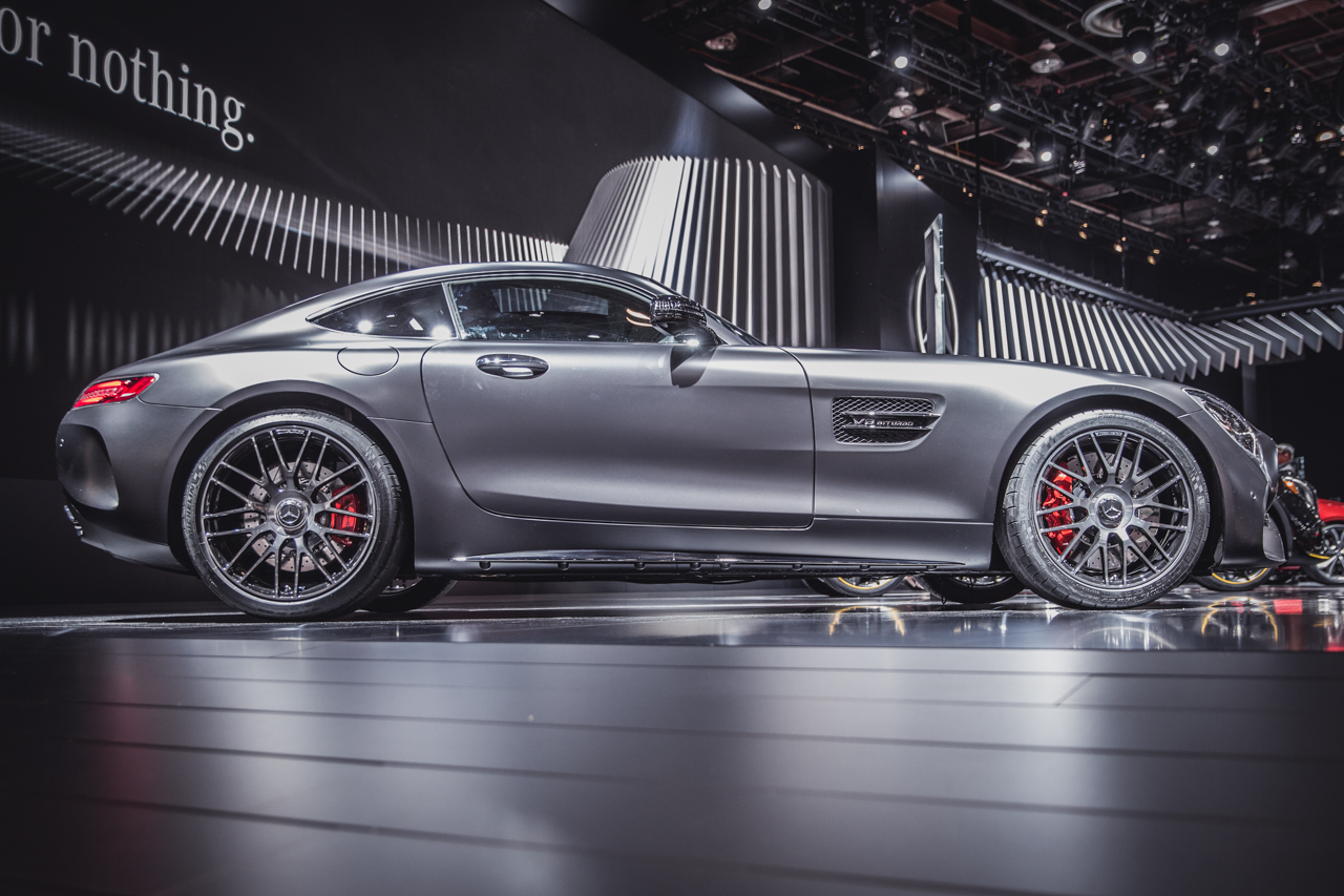 naias mercedes amg gt facelift und gt c coup. Black Bedroom Furniture Sets. Home Design Ideas