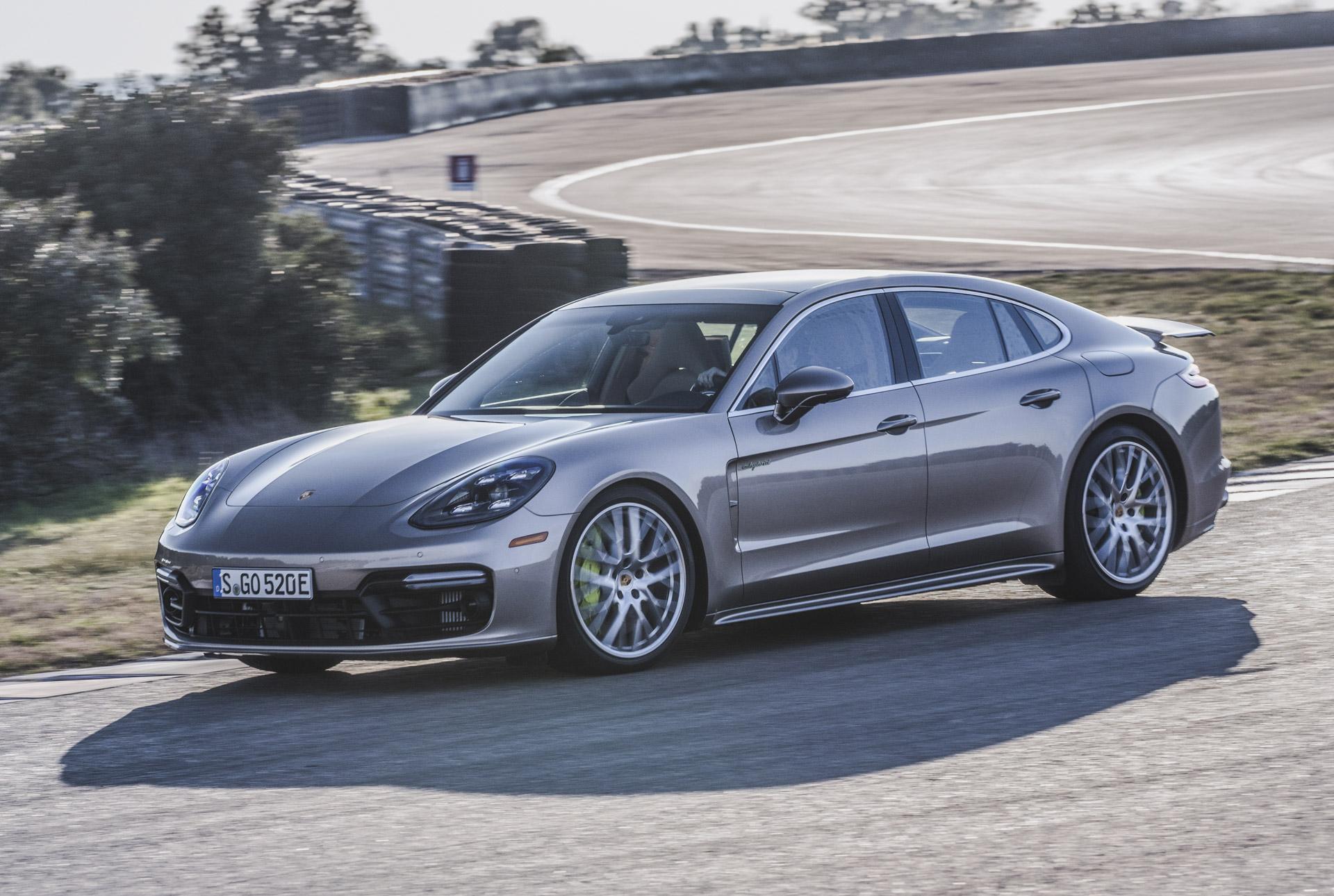 Porsche adelt Plugin-Hybrid mit Panamera Turbo S E-Hybrid