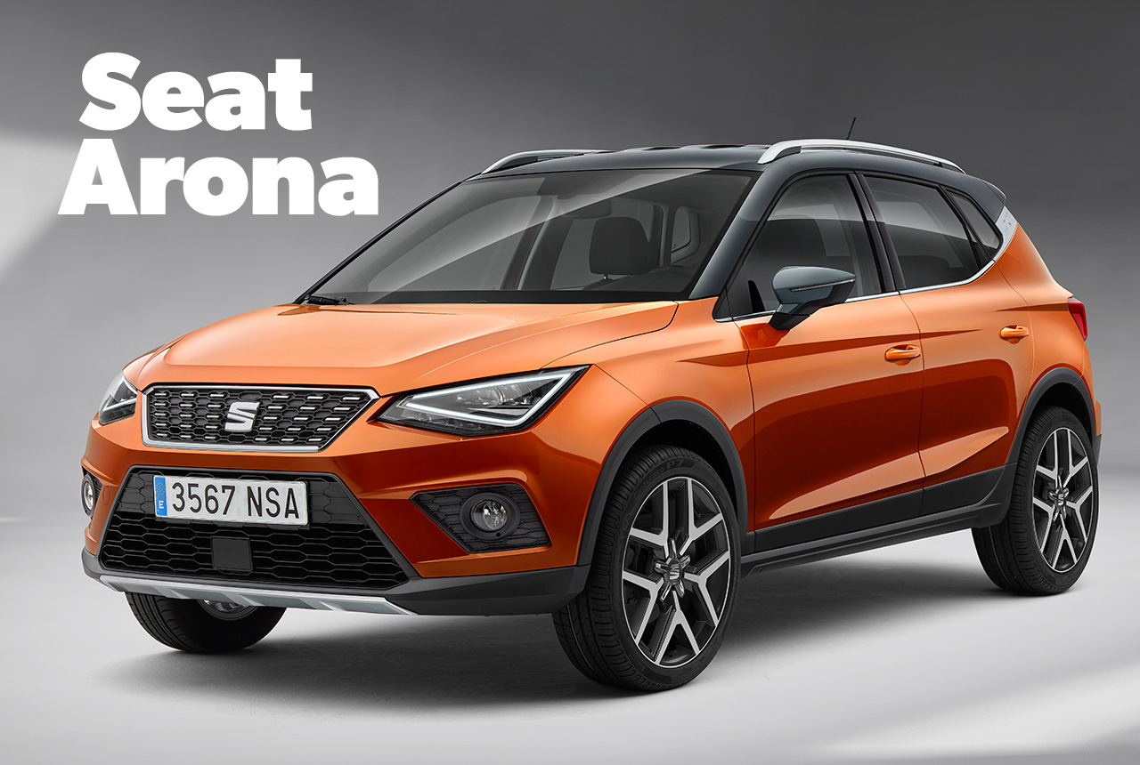 seat arona 2017 suv auf ibiza basis. Black Bedroom Furniture Sets. Home Design Ideas