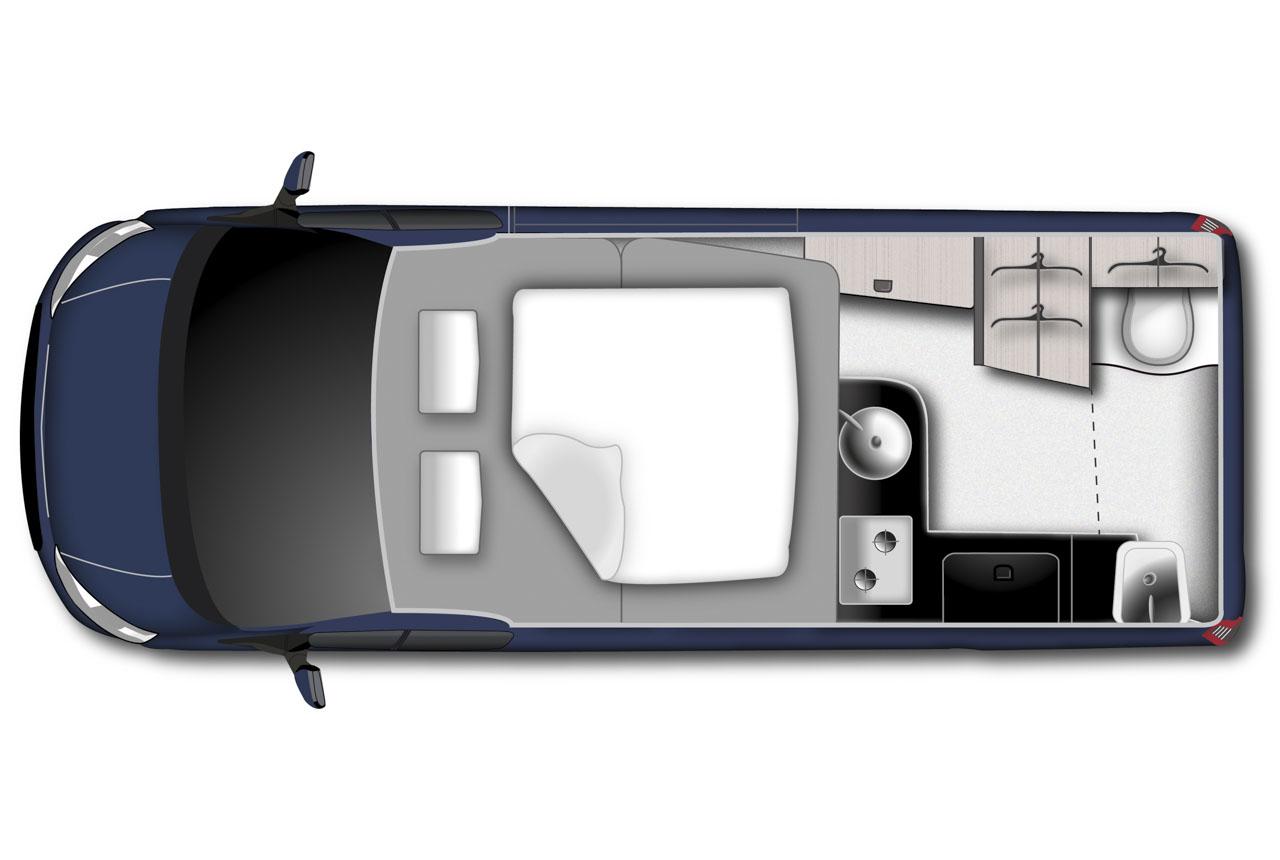 ford nugget plus 2018 langversion von fords reisemobil. Black Bedroom Furniture Sets. Home Design Ideas